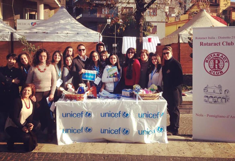 In Piazza con Unicef! – Le Pigotte