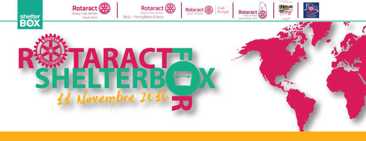 Rotaract for ShelterBox